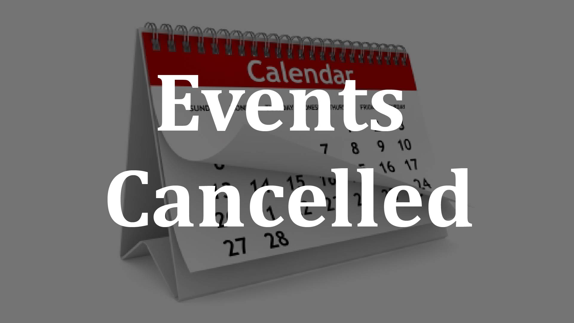 Cancelled Tournaments