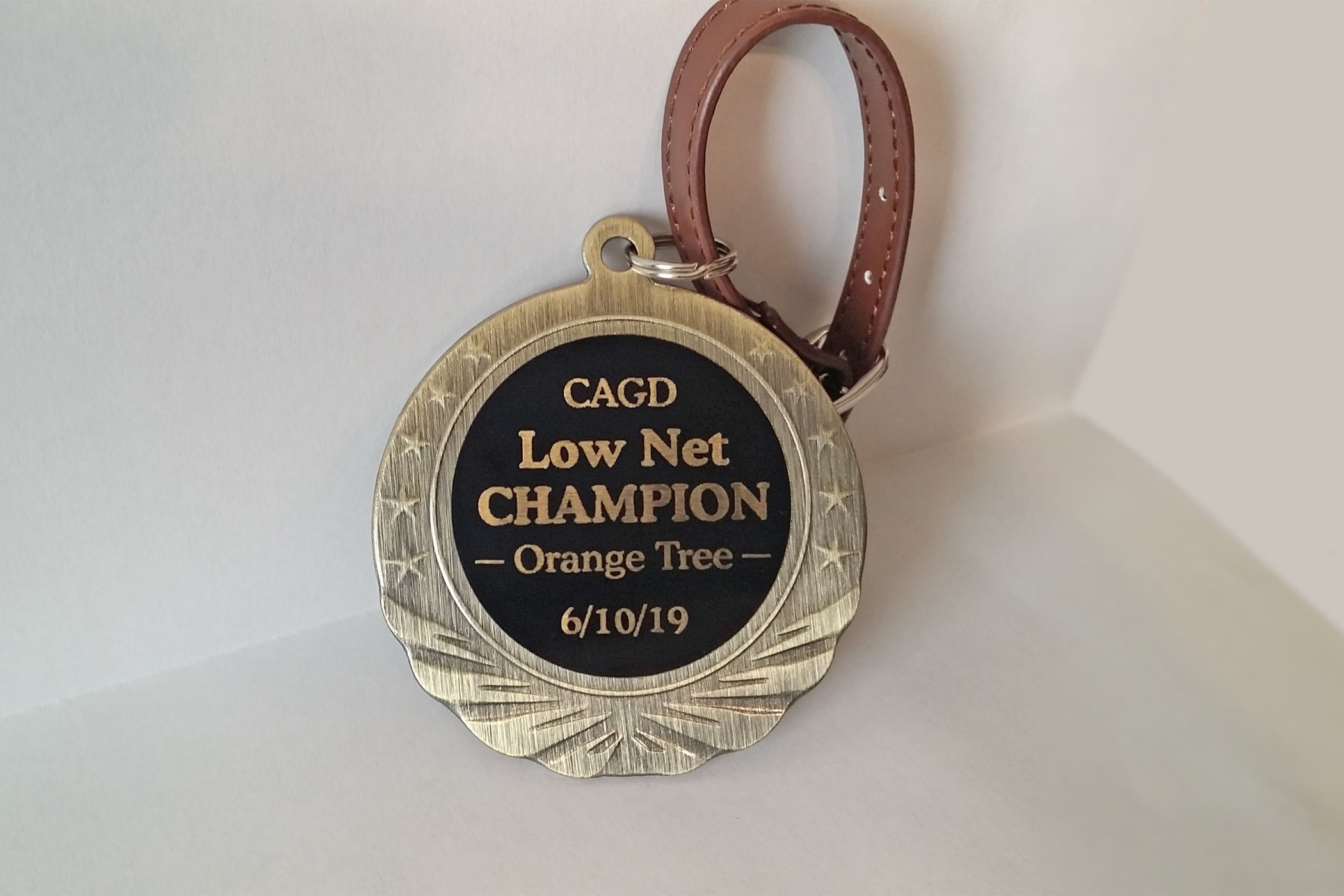 New Low Net Champion Award